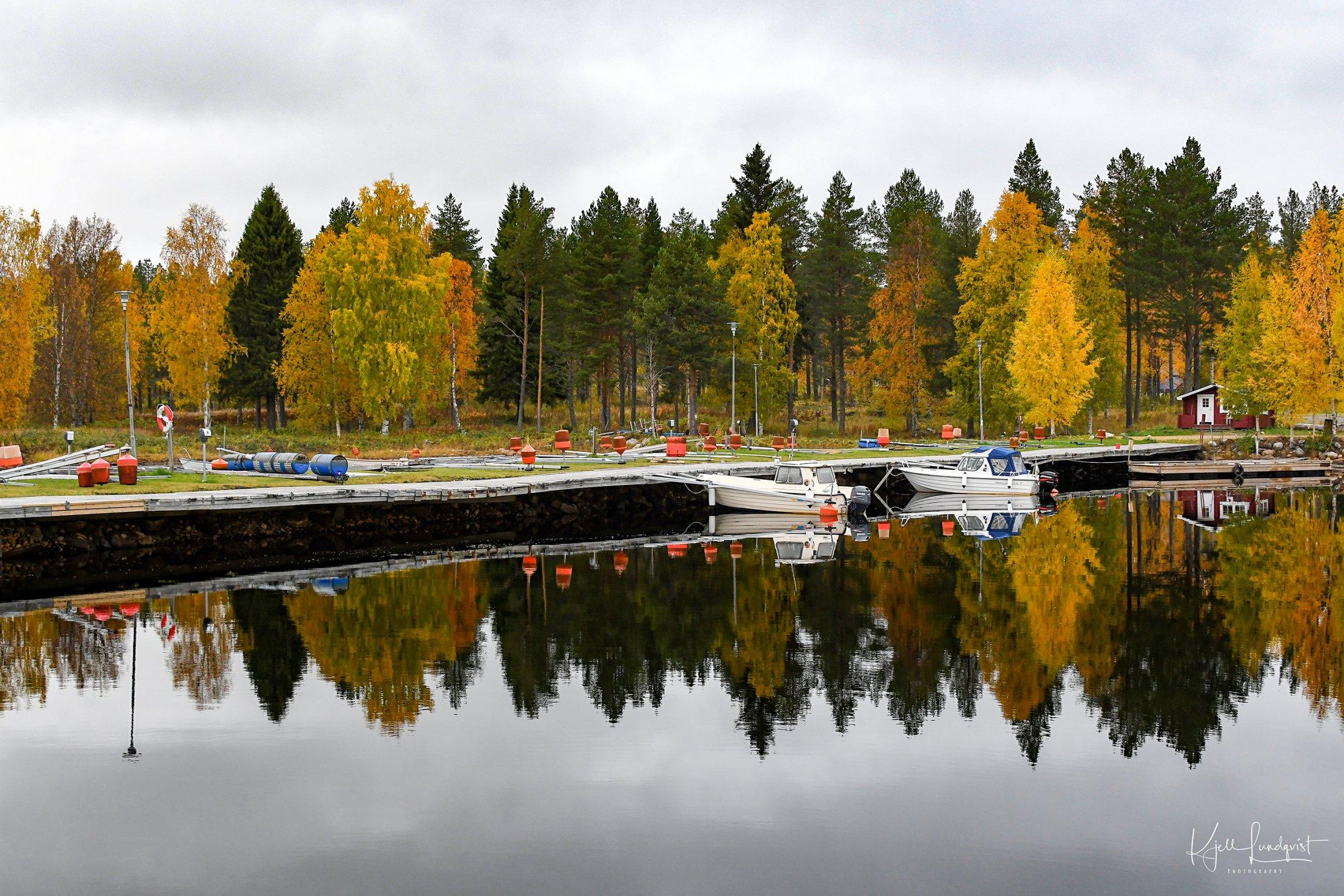 Vinterställning i Furuögrund