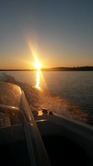Solnedgång 20140701