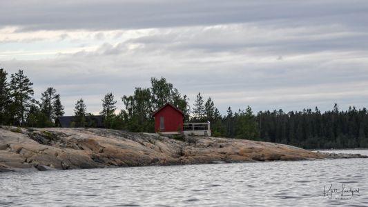 Bastun på Hamnskär