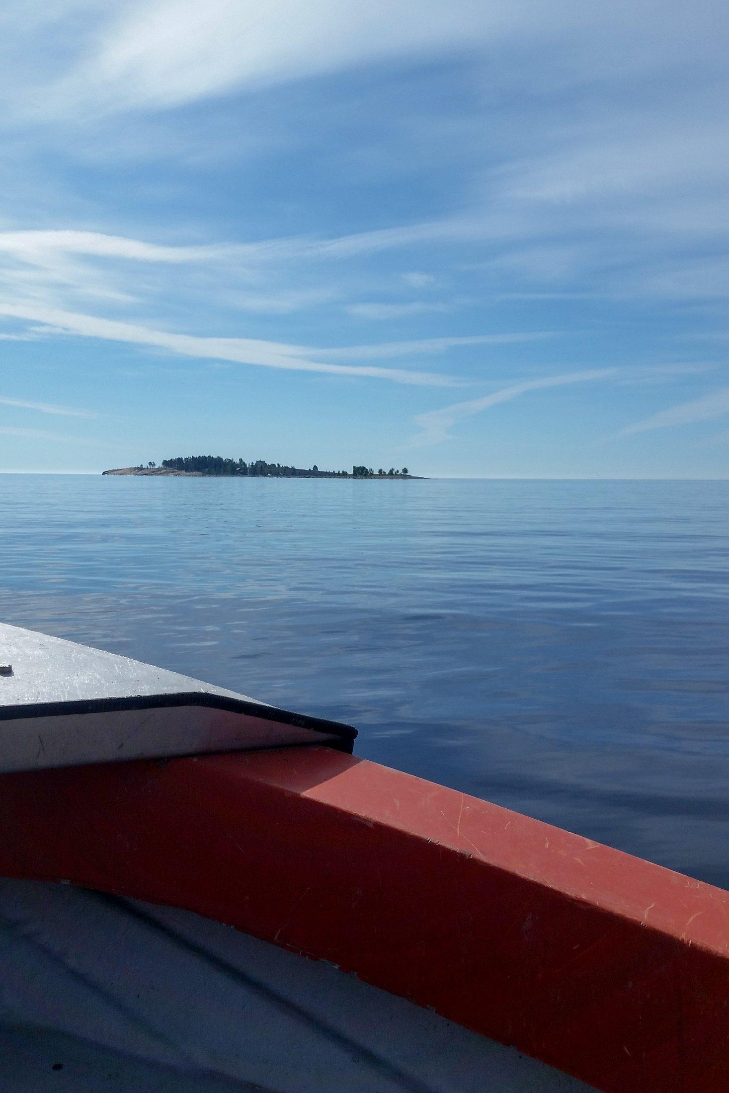 Bryggan på väg mot Halsön 2017-06-17