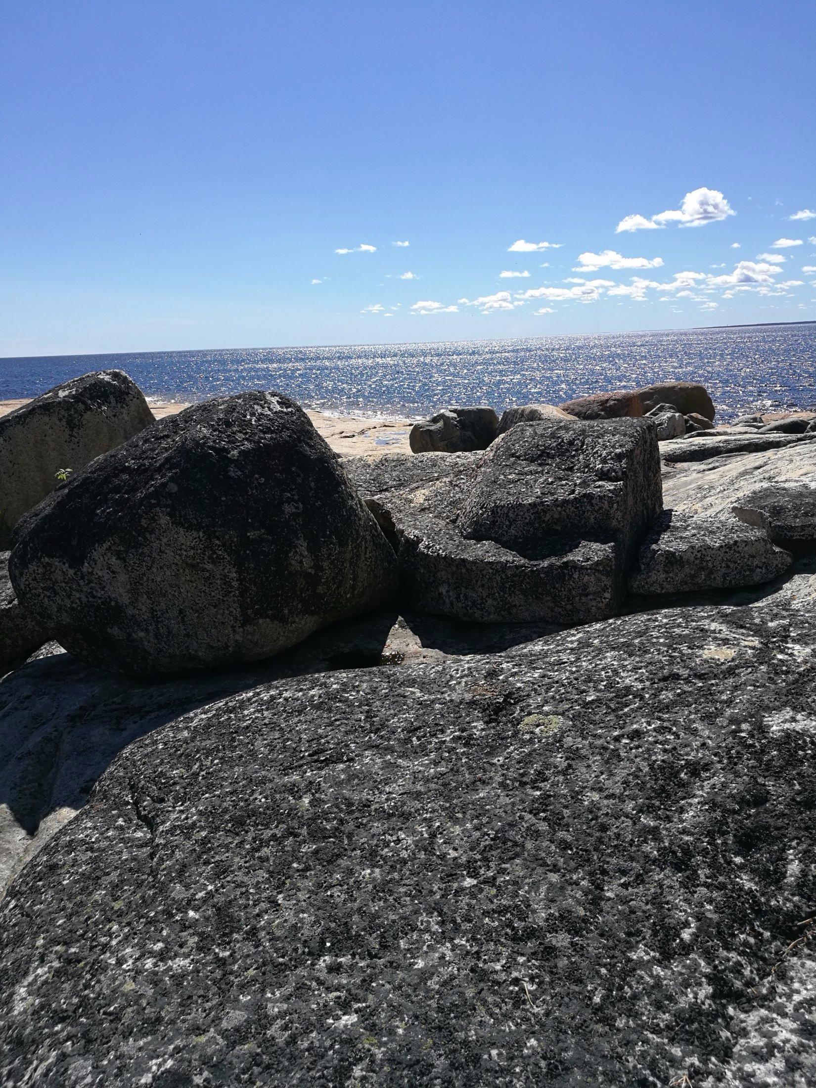 Klippor på Hamnskär
