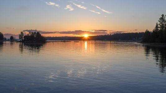 Soluppgång på Halsön